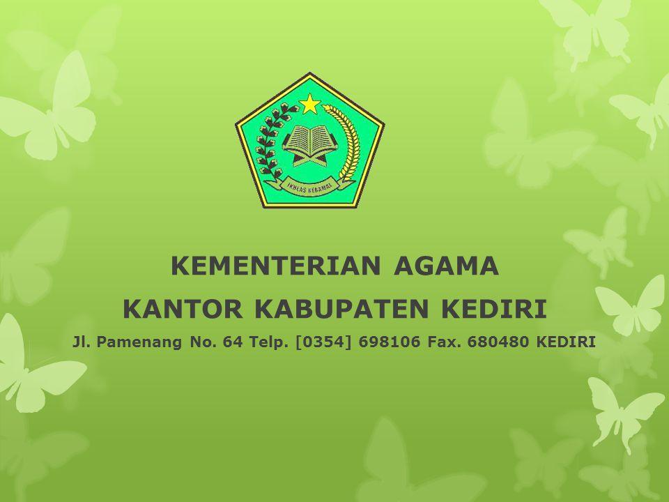 Jl. Pamenang No. 64 Telp. [0354] 698106 Fax. 680480 KEDIRI